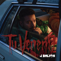 J Balvin - Tu Veneno - cover CD